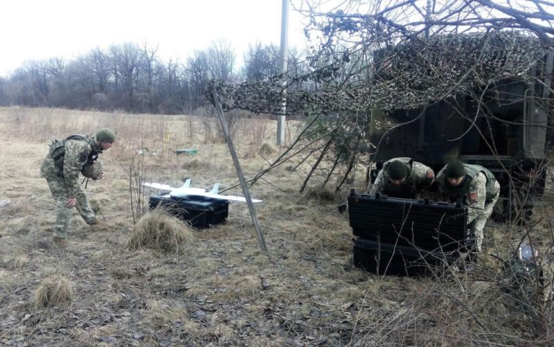 На Львовщине артиллеристы провели учения с «Фурией»