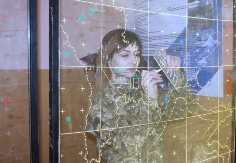 Я контролирую воздушное пространство Южного округа , - рядовая воздушных сил ВСУ Ярослава Калиновская