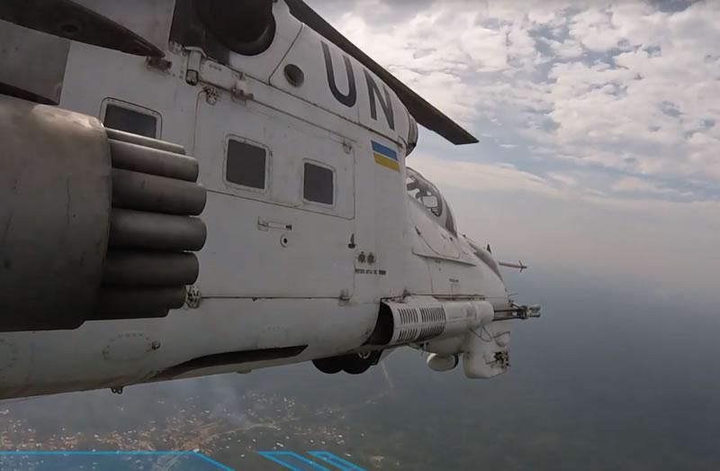 Украинские вертолетчики приняли участие в отражении нападения боевиков в Конго