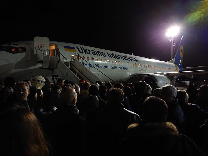 МАУ сократила время посадки пассажиров в самолет