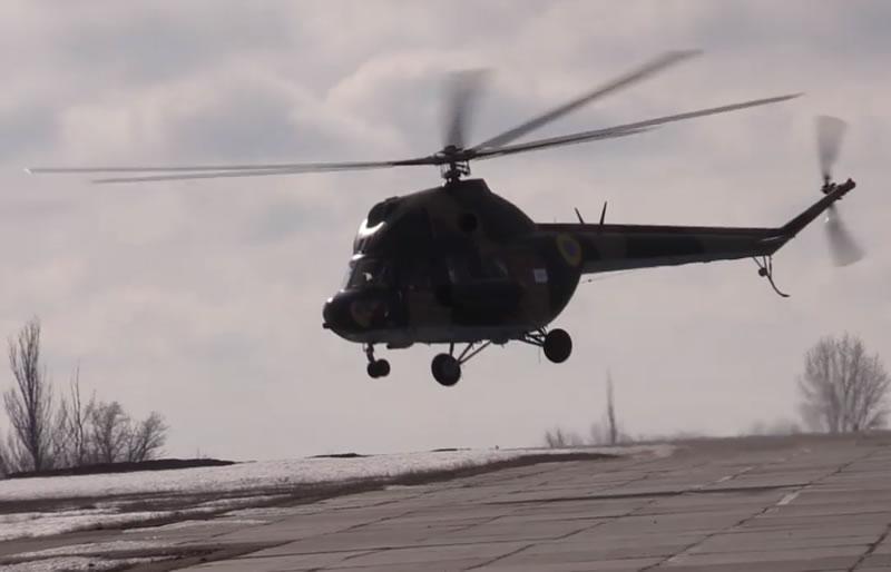 В районе проведения Операции Объединеных сил состоялась тренировка авианаводчиков