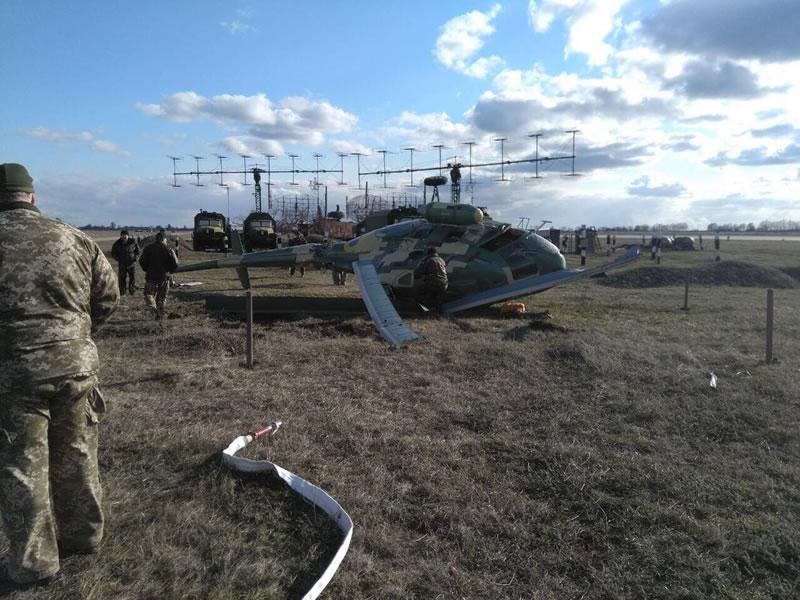 В Чугуеве Ми-2 совершил аварийную посадку