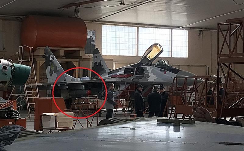 Украинские модернизированные МиГ-29 будут нести управляемое вооружение