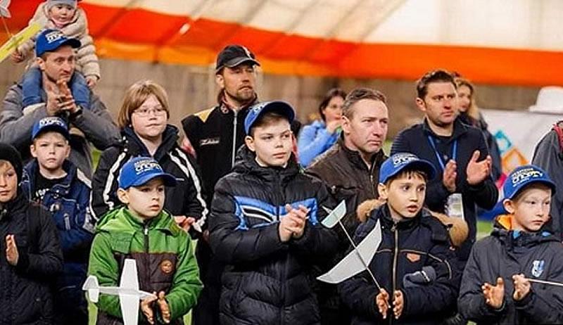 Авиамоделисты г. Каменское стали призерами открытых соревнований для детей