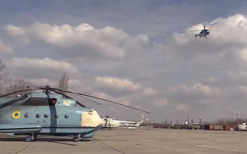 Летная смена в морской авиационной бригаде