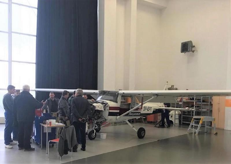 Делегация НАУ посетила учебные заведения и Авиационный центр в Польше