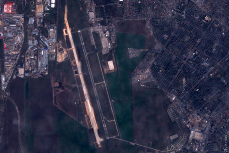 Строительство новой ВПП аэропорта Одесса продолжается
