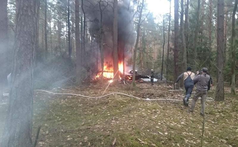 В Польше разбился очередной МиГ-29