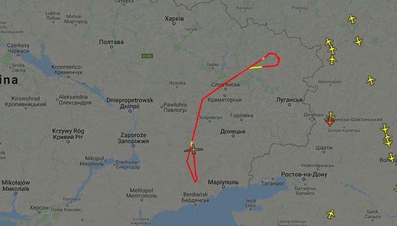 Беспилотник США мониторит ситуацию на Донбассе