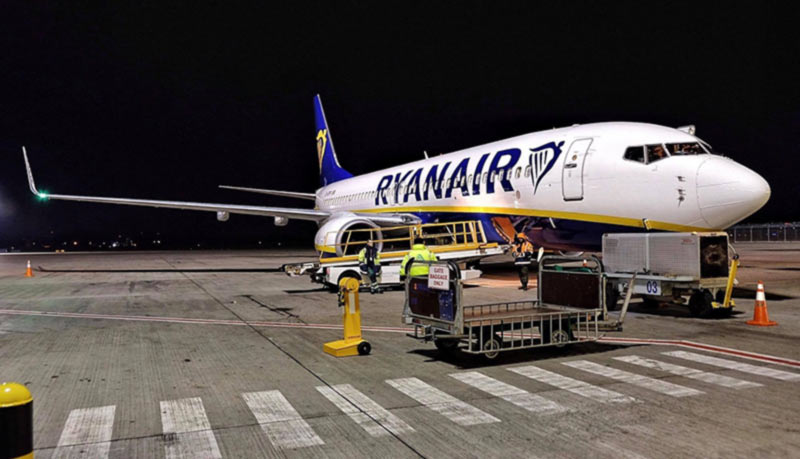 Ryanair открывает рейс Киев-Валенсия