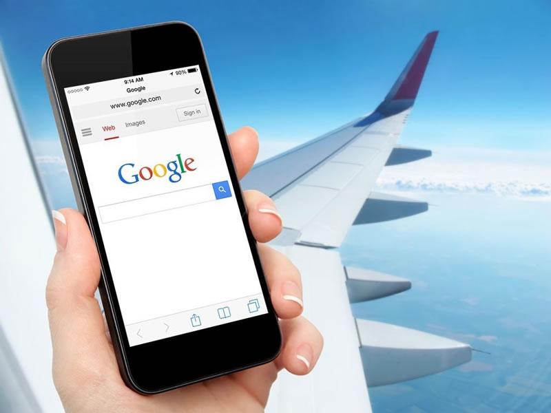 Кабмин разрешил доступ у интернету в самолетах
