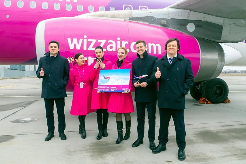 Авиакомпания Wizz Air запустила новый рейс из Киева в Германию