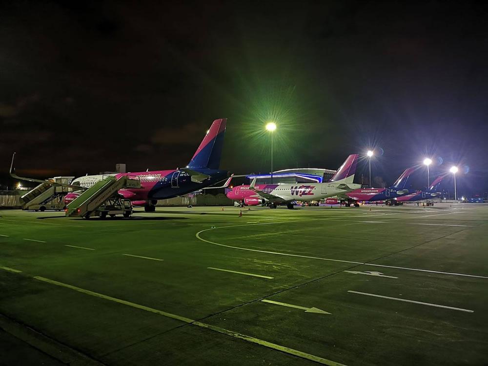 Wizz Air разместила четвертый борт на киевской базе