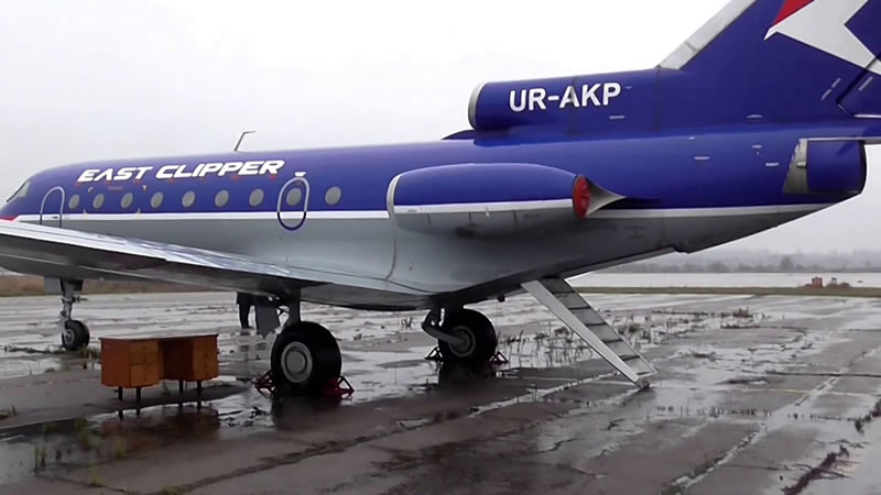 Як-40, переданный Летной академии, до сих пор стоит в аэропорту Запорожья