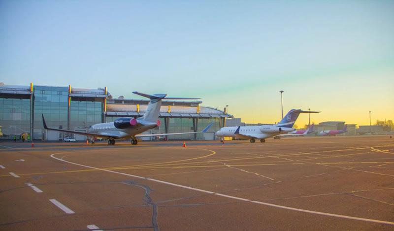 Аэропорт «Киев» опубликовал статистику за февраль