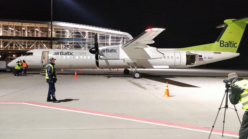 airBaltic выполнила первый рейс во Львов