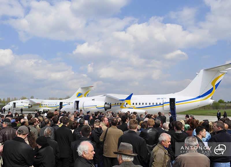 Ан-158 будет переводить до 102 пассажиров