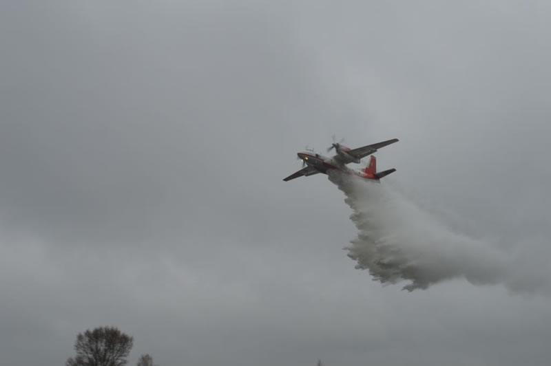 Авиация ГСЧС работает в Житомирской области