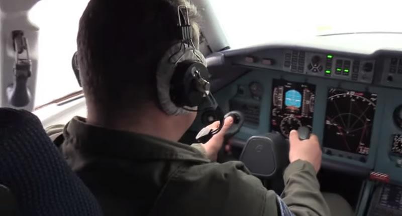 Пилоты госпредприятия «Антонов» провели сложнейшие испытания самолета