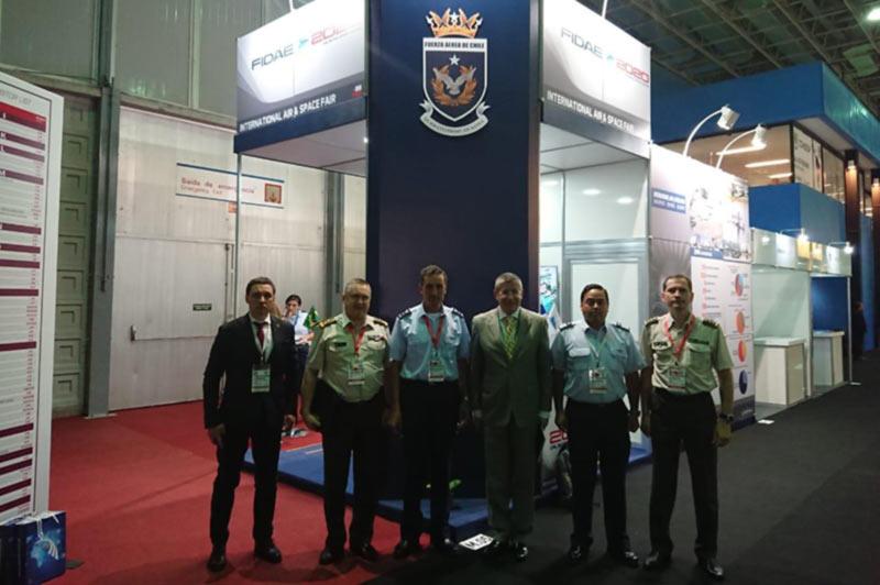 ГП «ЗАВОД 410 ГА»  на Международной выставке в сфере обороны и безопасности «LAAD-2019»