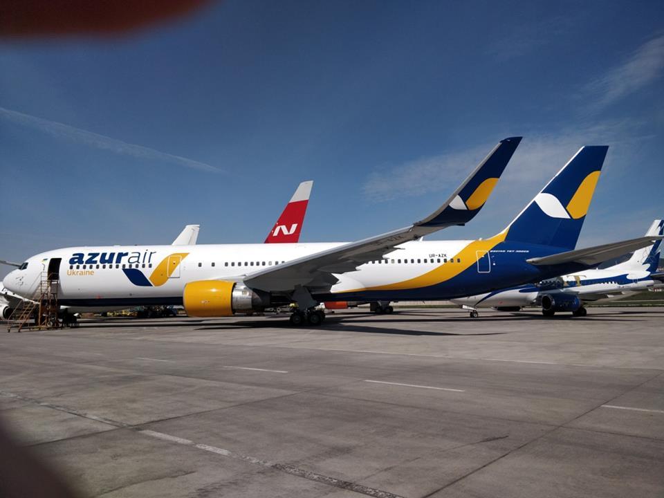 Azur Air Ukraine получит третий широкофюзеляжный самолет