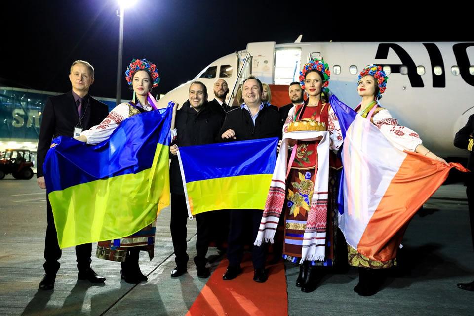 Aigle Azur выполнила первый рейс Киев-Париж