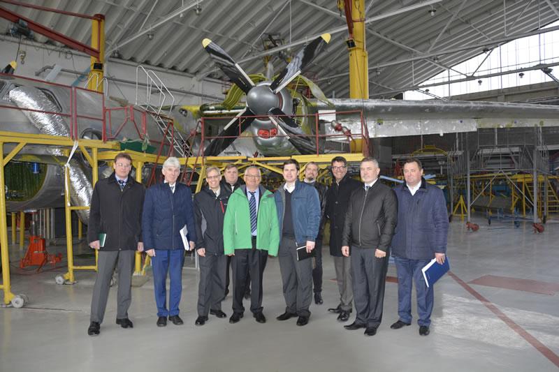 «Завод 410 ГА» планирует модернизировать Ан-26 вместе с «Collins»