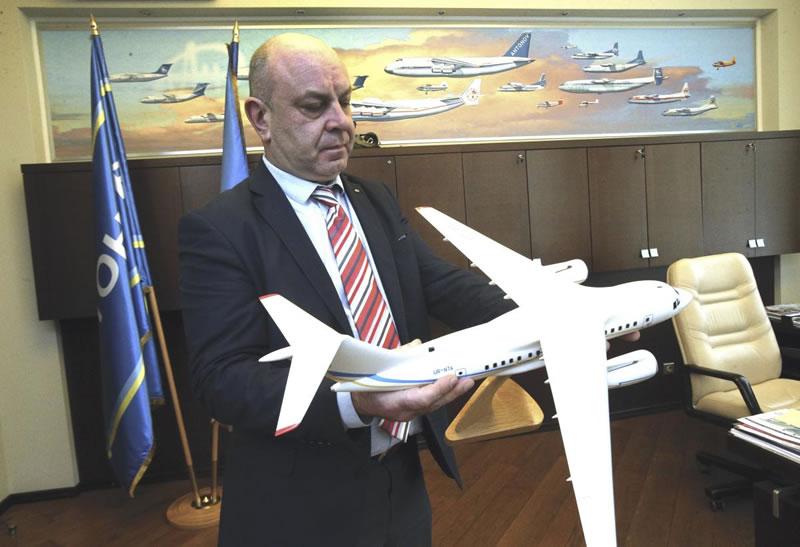 Президент ГП «Антонов» А. Донец: Мы должны вернуться к грузовым, военным самолетам