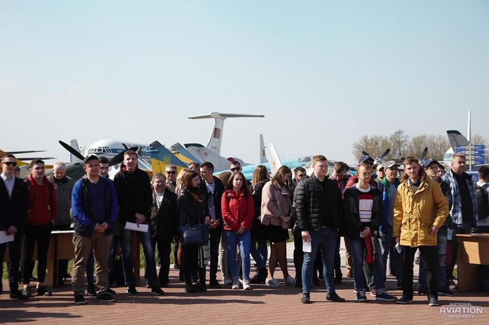 День открытых дверей Аэрокосмического факультета НАУ