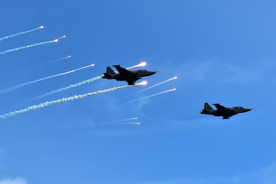В районе ООС состоялись учения ПВО