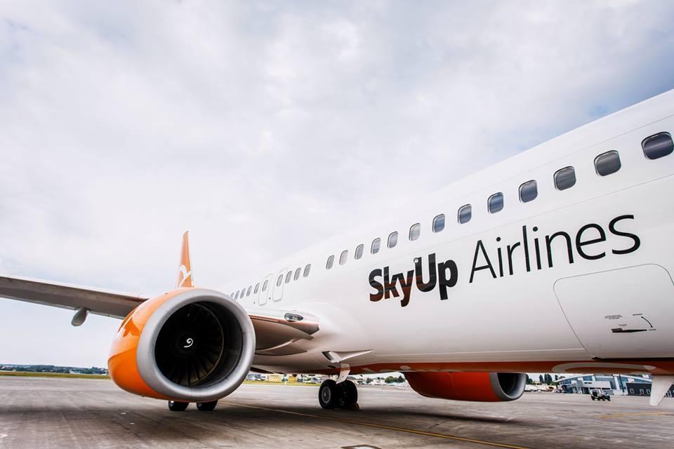 SkyUp сегодня запустила регулярные рейсы из Киева в Италию и Испанию