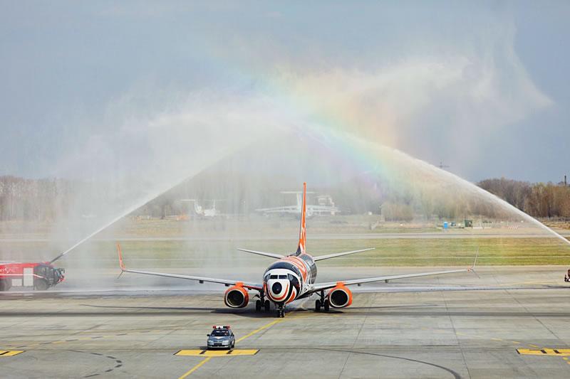 В течение апреля и мая флот SkyUp Airlines пополнится тремя самолетами Boеing