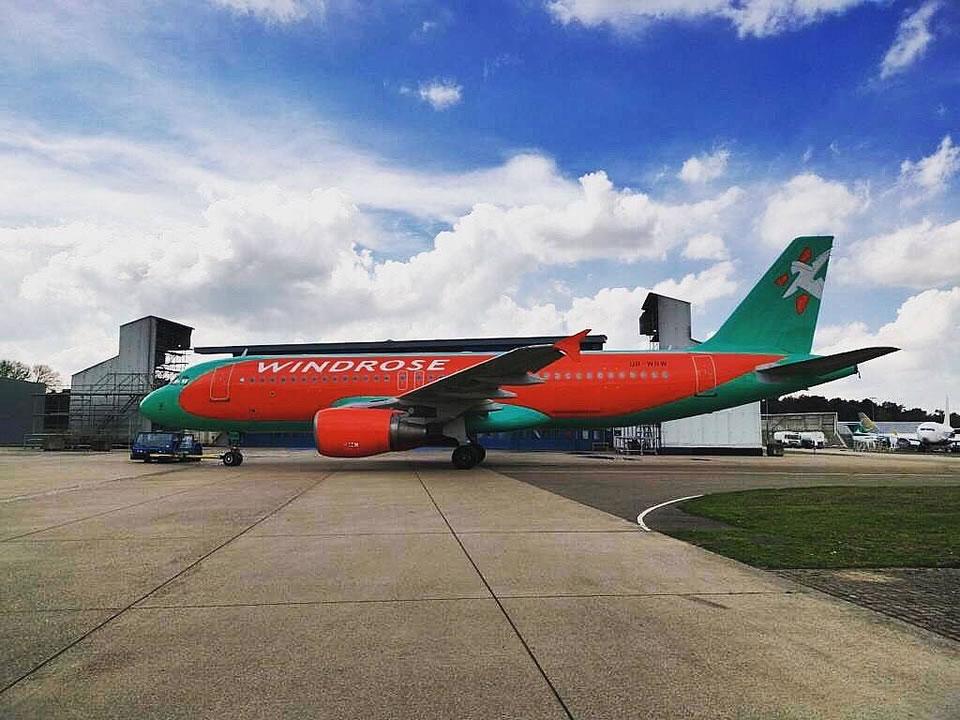 Авиакомпания Windrose показала свой новый борт