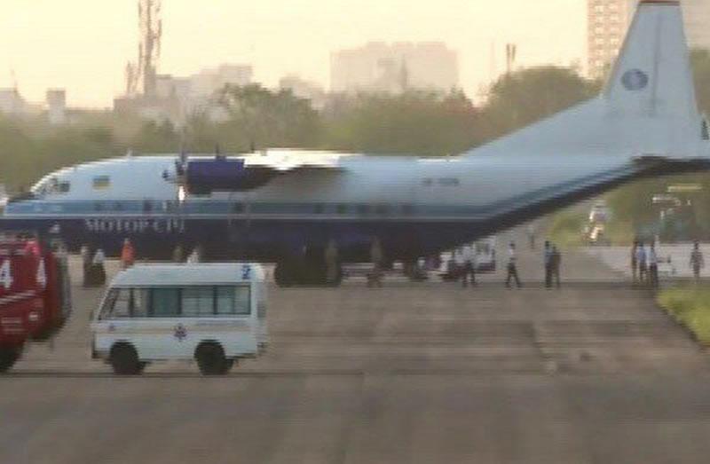 Индийские ВВС принудили к посадке Ан-12 «Мотор Сичи»