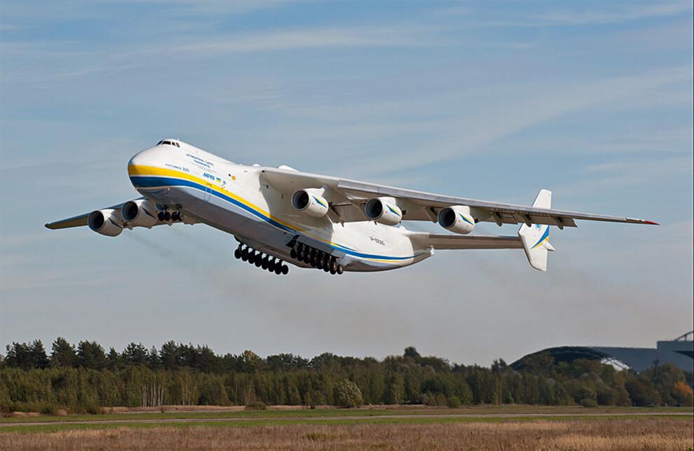 Ан-225 над Венецией оказался мифом