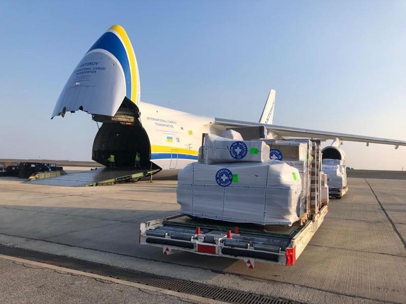«Авиалинии Антонова» помогли Мозамбику после циклона