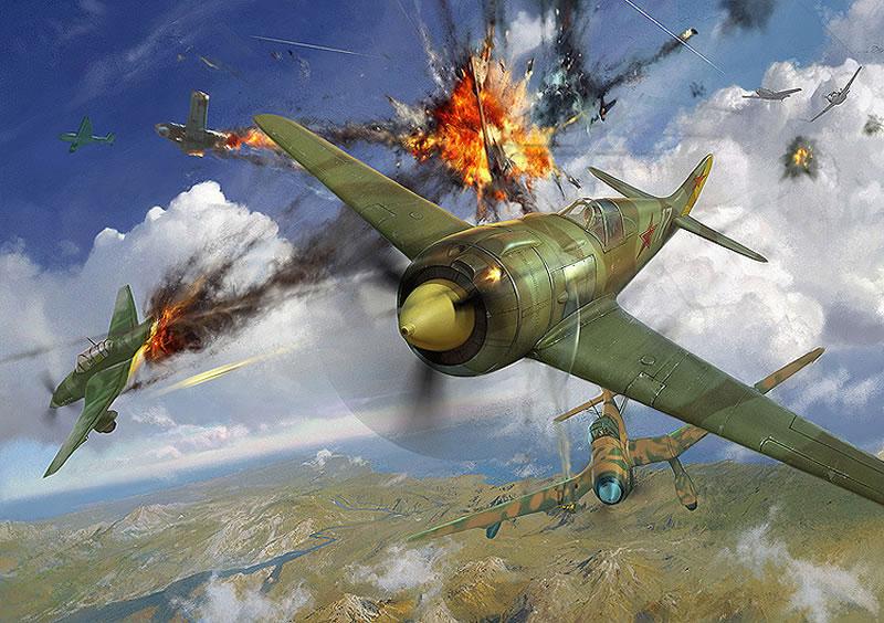 В Государственном музее авиации  установили авиасимулятор «Воздушный бой»