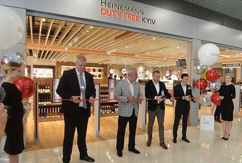 В аэропорту «Киев» открылся очередной Heinemann Duty Free