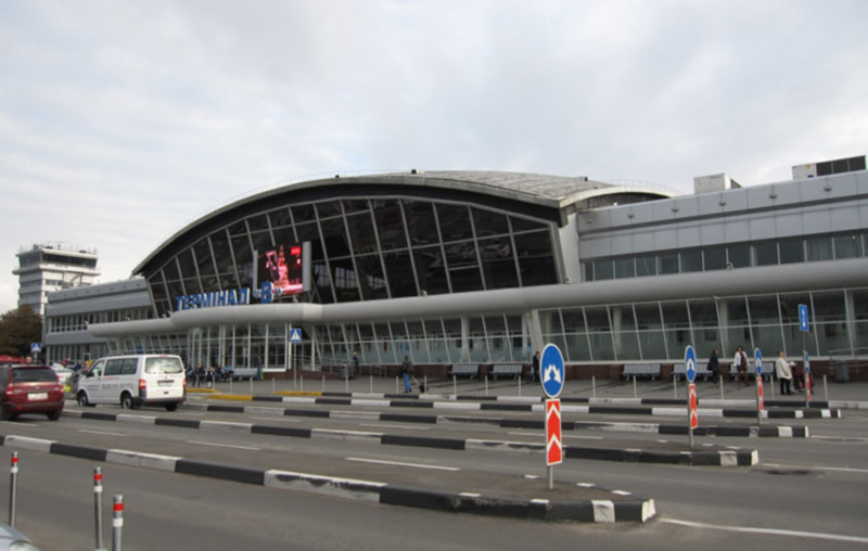 Терминал «Б» Борисполя снесут