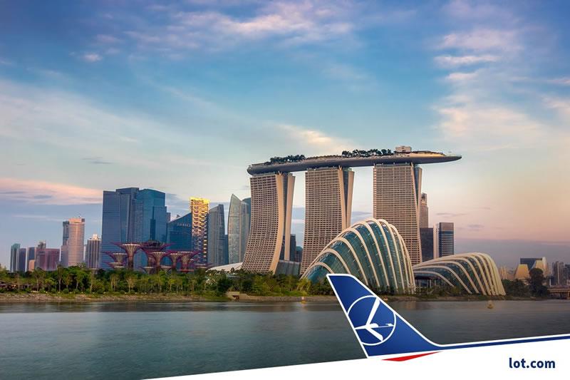 LOT предложила специальные цены в Сингапур