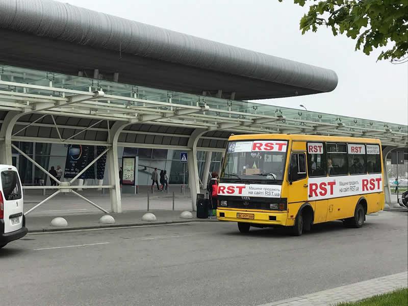 Увеличено количество автобусов до аэропорта «Львов»