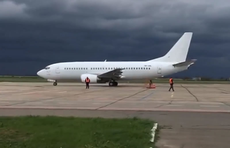 Из аэропорта «Николаев» отправился первый рейс в Анталию