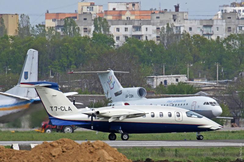 Одессу посетил редкий самолет