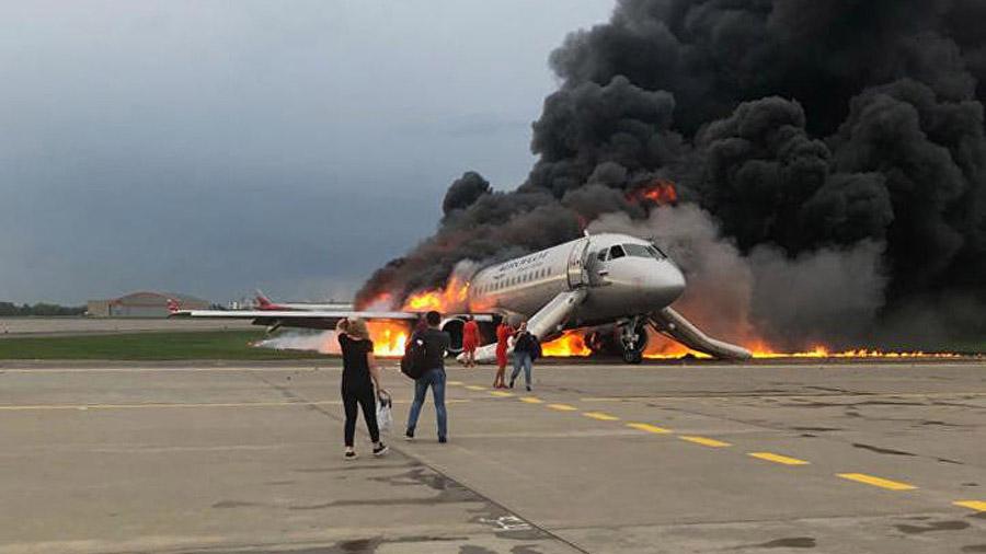 Во время катастрофы в Шереметьево пострадала украинка