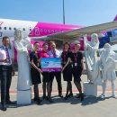 WIZZ AIR отмечает открытие новых рейсов из Киева в Грецию