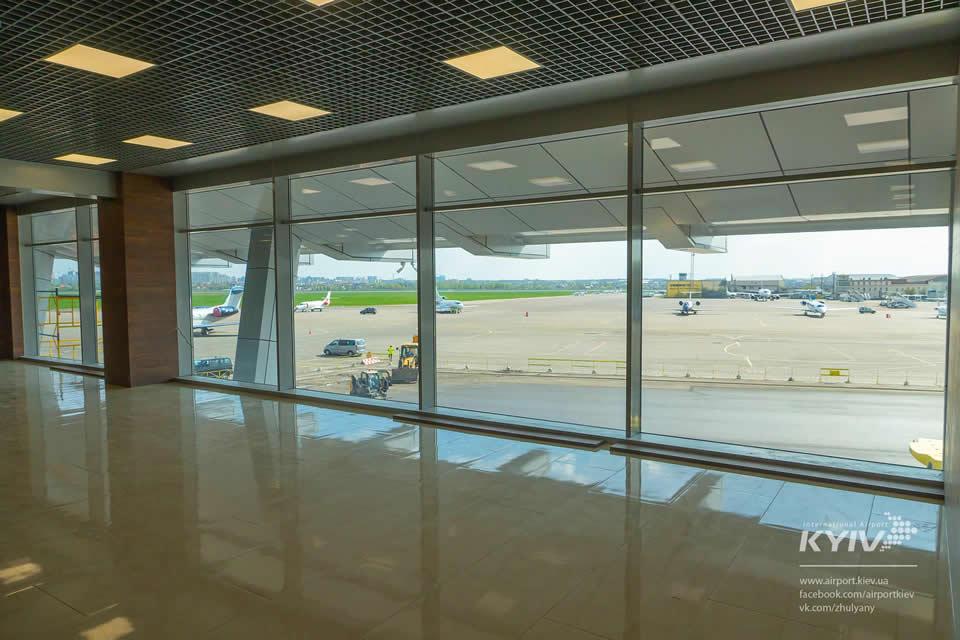«Жуляны» объявили дату открытия обновленного терминала