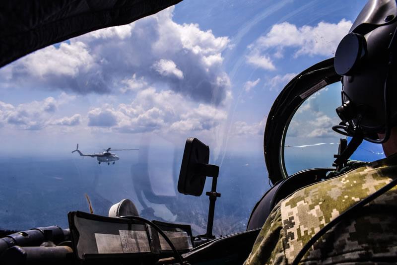 В Конго завершился процесс ротации вертолетчиков