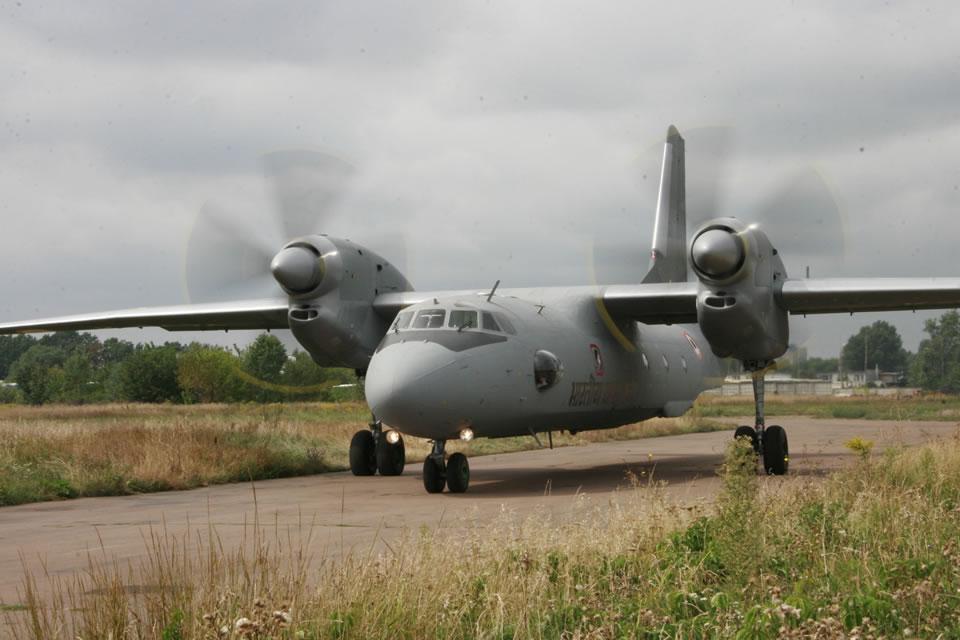 Ан-32 разбился в Индии
