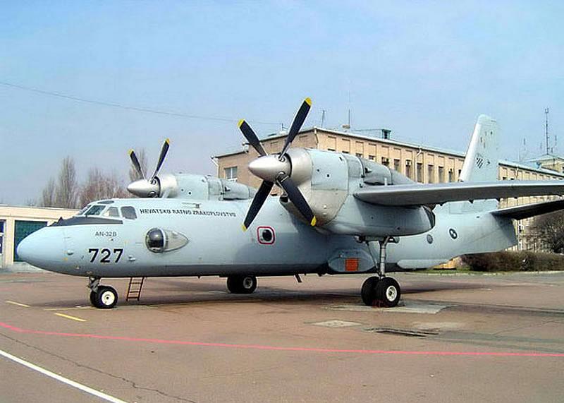 Украина может модернизировать Ан-32 Хорватии