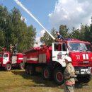 В Гостомеле тренировались тушить Ан-32